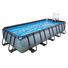 Zwembad Frame Pool 540 x 250 x 100 cm Stone Grey