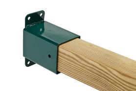 Hoekverbinding 'muur'vierkant 90/90