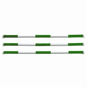 Hindernisbalken - groen - wit