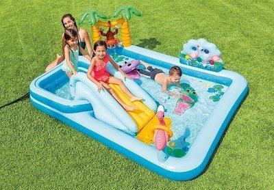 Zwembad speelcentrum Jungle Adventure